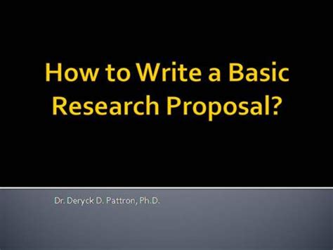 Download research proposal sample